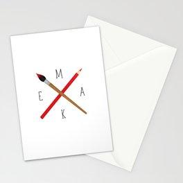MAKE Stationery Cards