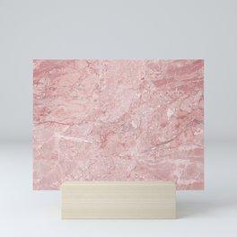 Blush Pink Marble Mini Art Print