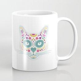 Gato De Los Muertos Coffee Mug