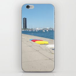 Chicago, Chicago shoreline, Skyline, Lake Michigan iPhone Skin