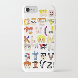 Child of the 90s Alphabet iPhone Case