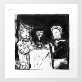 séance Art Print