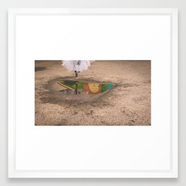 Sarah Can Jump II Framed Art Print