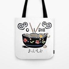 OISHII Noodle Bowl Tote Bag