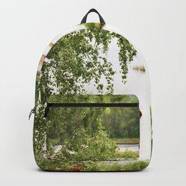 Riverside Kemijoki Finland Backpack