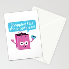Retail Therapy Stationery Cards