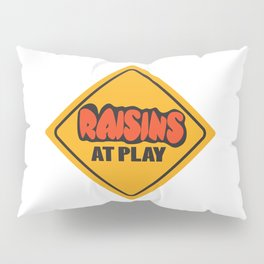 Raisins at Play Pillow Sham