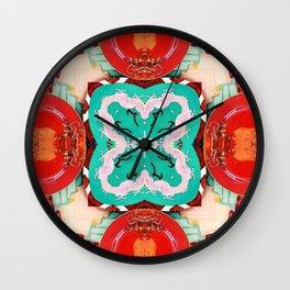 Plate No.1 Wall Clock