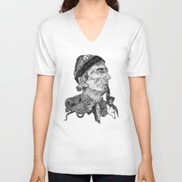 Jacques Cousteau Unisex V-Neck