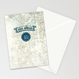 FULL AHEAD Stationery Cards