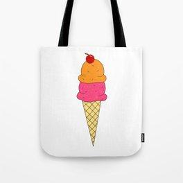 Frozen Yogurt Tote Bag