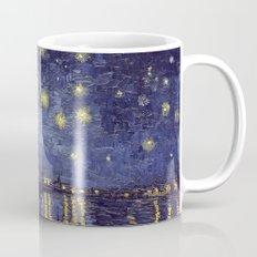 Vincent Van Gogh Starry Night Over The Rhone Mug