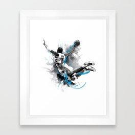Slam Dunk Framed Art Print