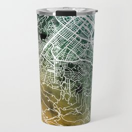 Cape Town South Africa City Street Map Travel Mug