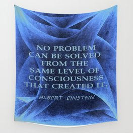 No Problem... Albert Einstein Wall Tapestry
