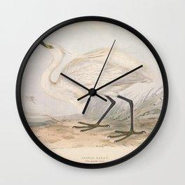 LITTLE EGRET (2) Wall Clock