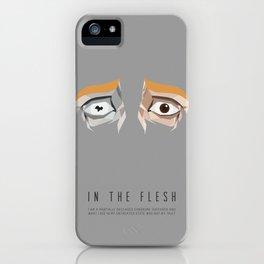 In The Flesh - Kieren's Eyes iPhone Case