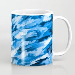 Blue Designer Camo Coffee Mug