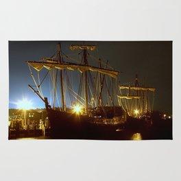 Tall Ships Rug