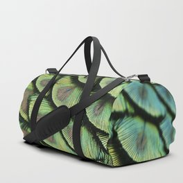 Peacock Feathers Duffle Bag