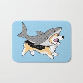 Another Corgi in a Shark Suit Bath Mat