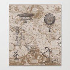 Gears of Flight Canvas Print