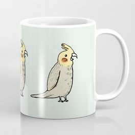 Happy Cockatiel Coffee Mug