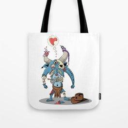Walking Devil Tote Bag