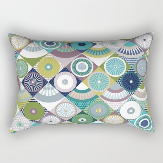 scales and pearls Rectangular Pillow