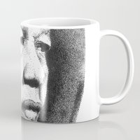 mandela Mugs featuring Nelson Mandela by Daniel Point