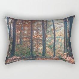 into the woods 13 Rectangular Pillow