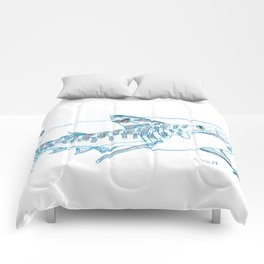 Tiger Shark II Comforters