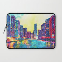 Chicago River Laptop Sleeve