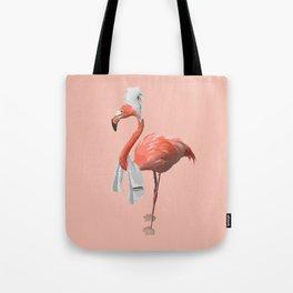 Squeaky Clean Flamingo Tote Bag