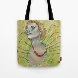 SPIDER WITH NECKLACE Tote Bag