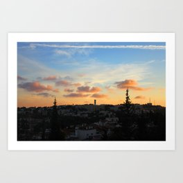 Jerusalem of Light Art Print