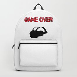 VR Game Over Red Backpack