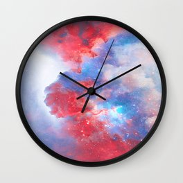 Stay with me between the Clouds and your Dreams Wall Clock