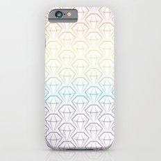 Rainbow Emeralds pattern Slim Case iPhone 6s