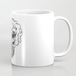 Skull Smoke Coffee Mug