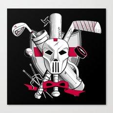 TMNT Casey Jones Canvas Print