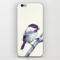 wesley bird iPhone & iPod Skins featuring Bird // Trust by Amy Hamilton