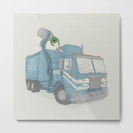 Curbside Pickup Metal Print