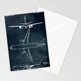 Airbus A320 - First flight 1987 Stationery Cards