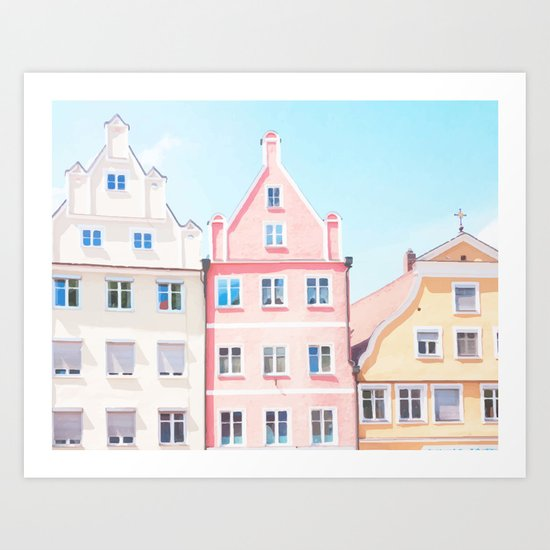 House 2 Art Print