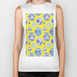 Chinoiserie Ginger Jar Collection No.2 Biker Tank