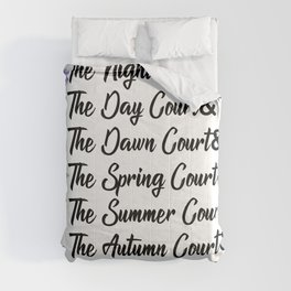 ACOTAR Courts Comforters