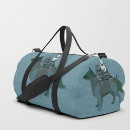 Dogs and cats Duffle Bag