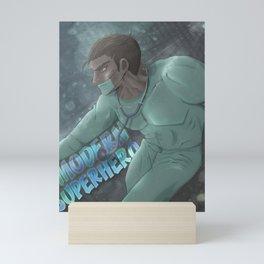 Modern Superhero Mini Art Print