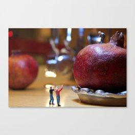 Kitchen Calamity  Canvas Print